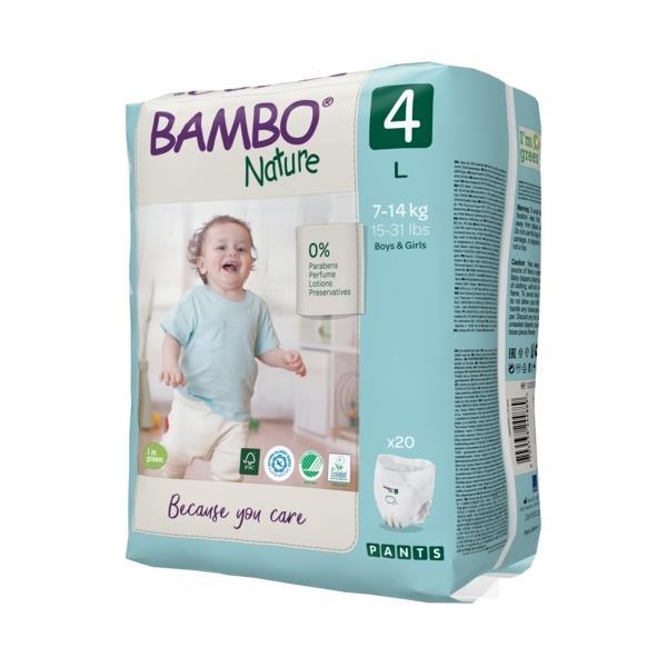 Scutece Chilotel Bambo Nature Eco-Friendly, nr4, 7-14 kg, 20buc 2