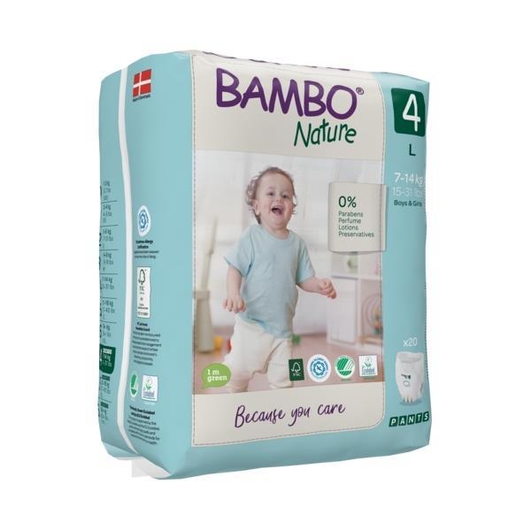 Scutece Chilotel Bambo Nature Eco-Friendly, nr4, 7-14 kg, 20buc 0