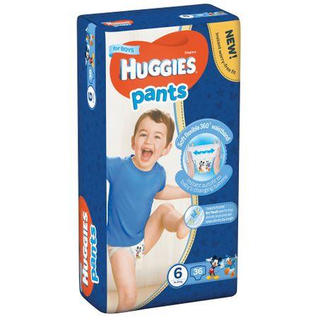 Scutece Chilotel Huggies D, Boy, nr6, 15-25kg, 36buc.  0