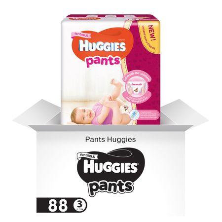 Scutece Chilotel Huggies D, Girl, nr3, 6-11kg, 88buc.  0