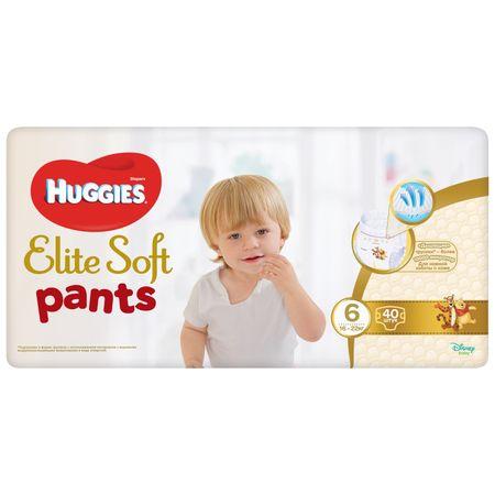 Scutece Chilotel Huggies Elite Soft, nr 6, 15-25kg, 40 buc. 1