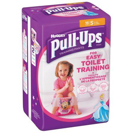 Scutece Chilotel Huggies, Pull-Ups, Girl, nr4, 8-15kg, 16buc. 0