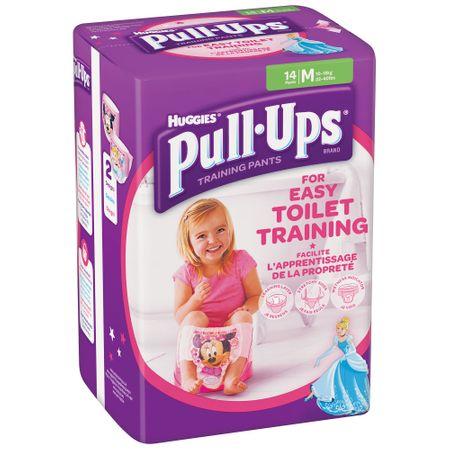 Scutece Chilotel Huggies, Pull-Ups, Girl, nr5, 11-18kg, 14buc. [0]