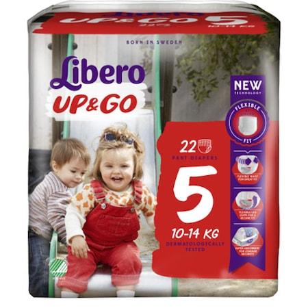 Scutece Chilotel Libero Up&Go Unisex, nr5, 10-14kg, 22 buc [0]