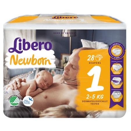 Scutece Libero Baby Soft, New Born, nr1, 2-5kg, 28 buc 0