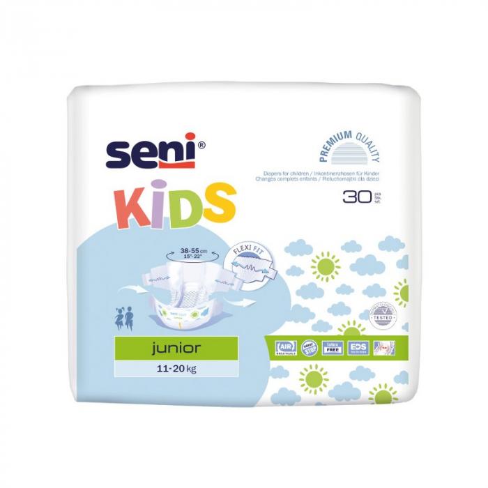 Scutece Premium Copii Seni®  Kids Junior, 11-25 kg, 30 buc [0]