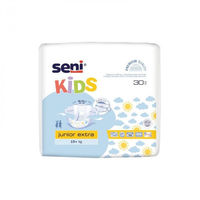 Scutece Premium Copii Seni®  Kids Junior Extra, 15-30 kg, 30 buc [0]