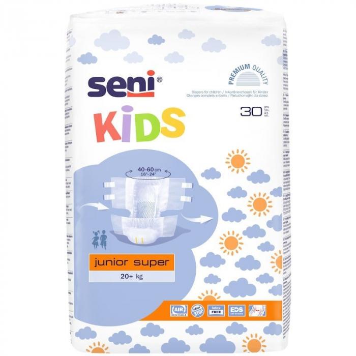 Scutece Premium Copii Seni Kids Junior Super, 20-40 kg, 30 buc [1]