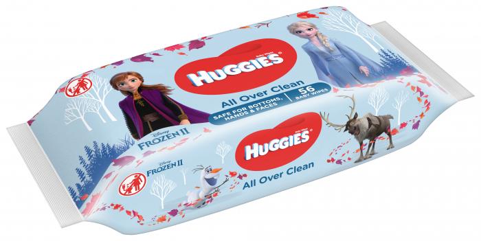 Servetele Umede Huggies All Over Clean Disney, 56 buc 0
