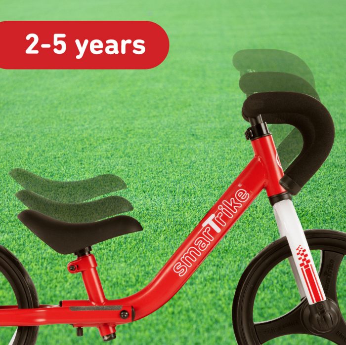 SmarTrike® Folding Bicicleta fara Pedale, cu manere ergonomice, Rosu [2]