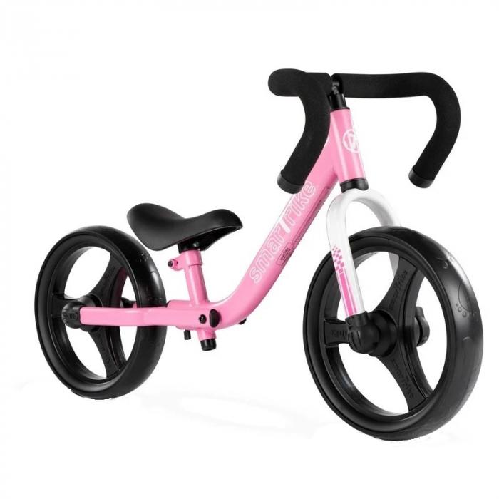 SmarTrike® Folding Bicicleta fara Pedale, cu manere ergonomice, Roz [0]