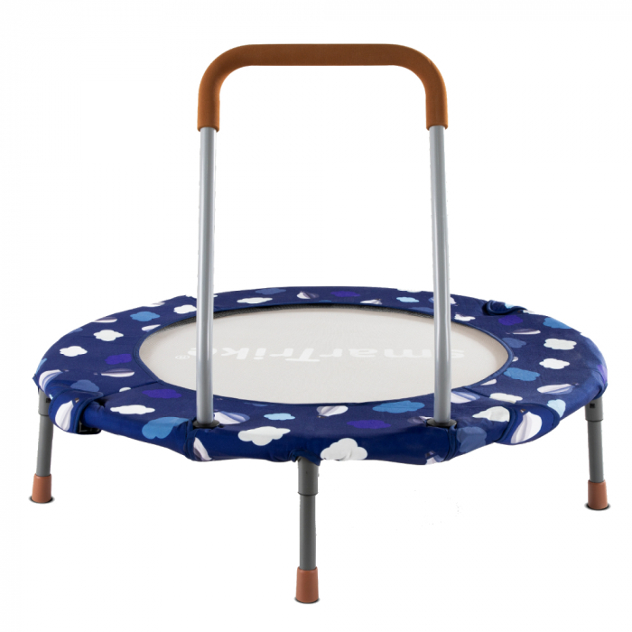 SmarTrike® Jump 3 in 1, Trambulina pliabila si piscina cu bile, Albastru [0]