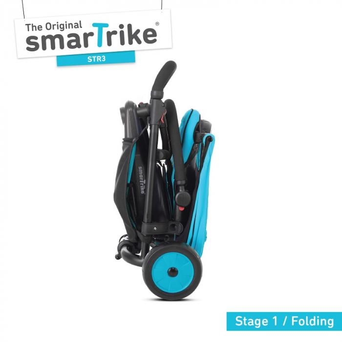 SmarTrike Tricicleta pliabila Smart fold 6w1 STR3, de la 10 luni, Albastru [1]
