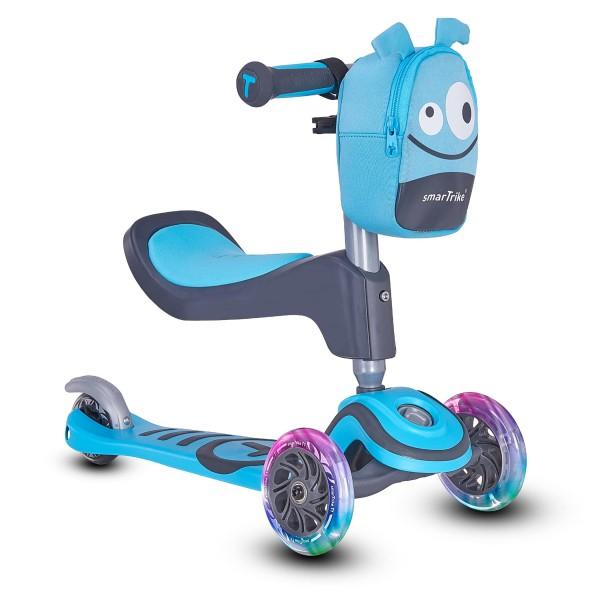 SmarTrike® Trotineta T1 Scooter, incepand cu 15 luni, Albastru [0]