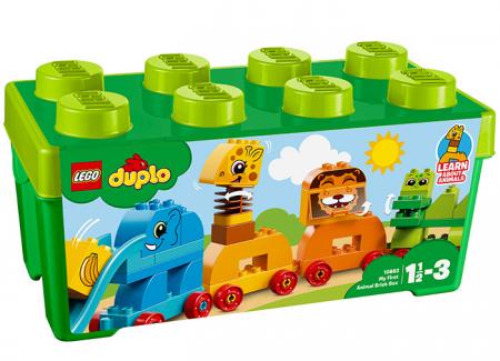 10863 LEGO® DUPLO® My First Prima mea cutie de caramizi cu animale0