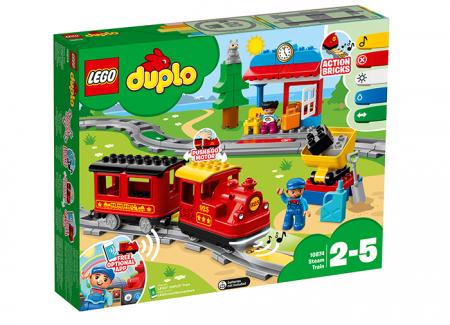 10874 LEGO® DUPLO® Tren cu aburi 3