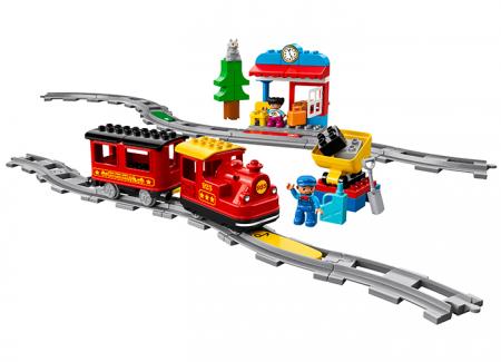 10874 LEGO® DUPLO® Tren cu aburi 5