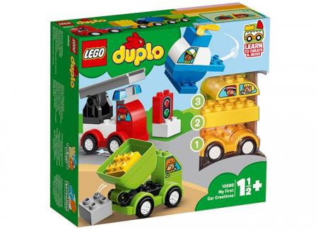10886 LEGO® DUPLO®: Primele mele Mașini Creative1