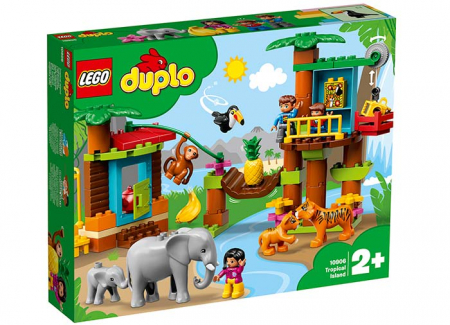 10906 LEGO® DUPLO®: Insulă tropicală 0