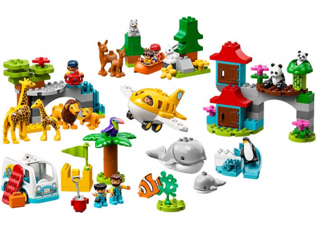 10907 LEGO® DUPLO®: Animalele lumii 2