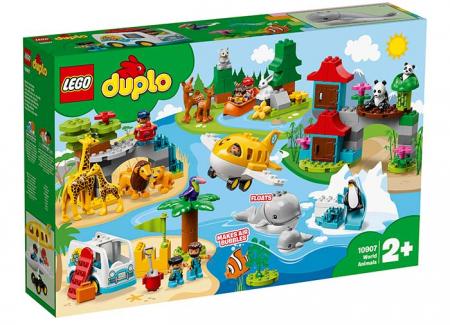 10907 LEGO® DUPLO®: Animalele lumii 0