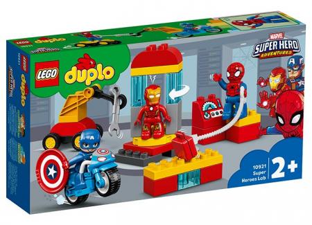 10921 LEGO® DUPLO®: Laboratorul Super Eroilor  [0]