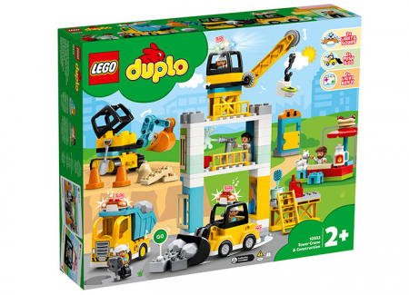 10933 LEGO® DUPLO® : Macara si Constructie [0]