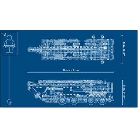 LEGO® Technic: Macara mobila 421085