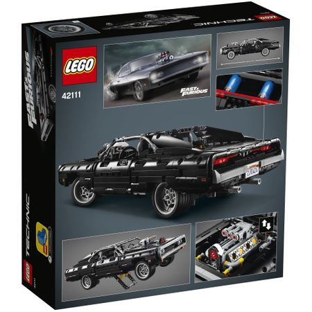 LEGO® Technic: Dom's Dodge Charger 421117
