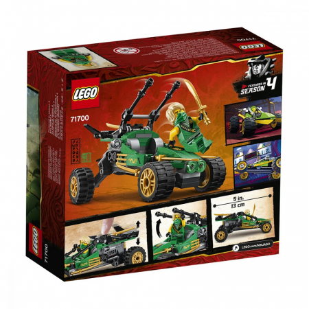 71700 LEGO® NINJAGO®: Jungle Raider  [0]