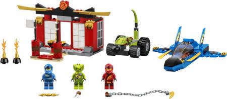 71703 LEGO® NINJAGO® : Intrecere cu Avionul de lupta [1]