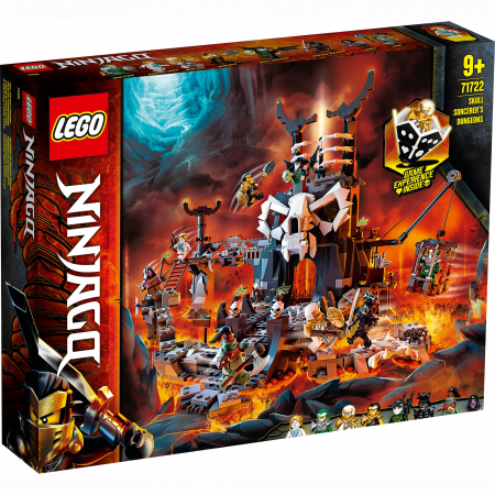 71722 LEGO® NINJAGO® : Temnitele Vrajitorului craniu0