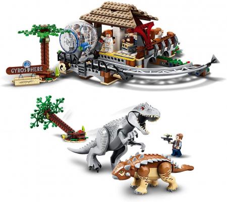 75941 LEGO® Jurassic World: Indominus Rex contra Ankylosaurus [2]