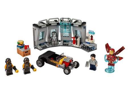 76167 LEGO® Super Heroes: Arsenalul lui Iron Man 2