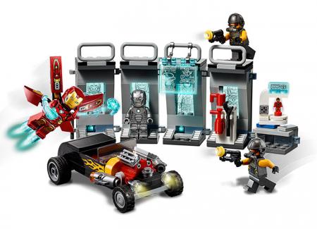 76167 LEGO® Super Heroes: Arsenalul lui Iron Man 4