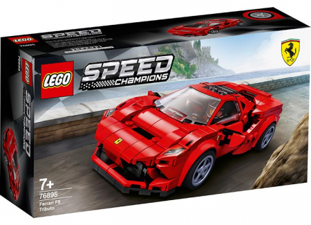76895 LEGO® Speed Champions: Ferarri F8 Tributo  0
