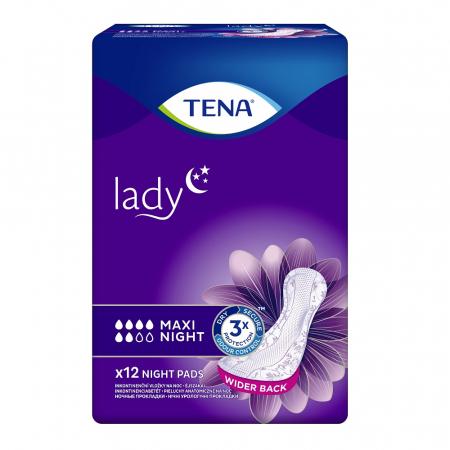 Absorbante Incontineta Urinara Tena Lady Maxi Night, 12 bucati [0]