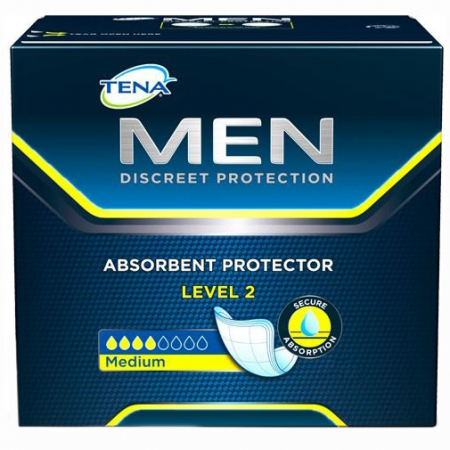 Absorbante Incontineta Urinara Tena Men Level 2, 10 bucati [0]