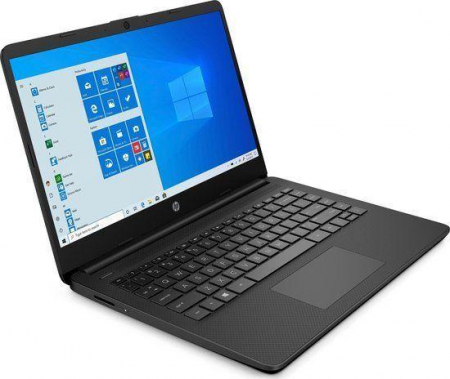 "Laptop HP, 14"", i5 1035G1 (pana la 3.6 GHz), 12 GB DDR4, 512 GB SSD, Windows 10 Home, Black [0]"