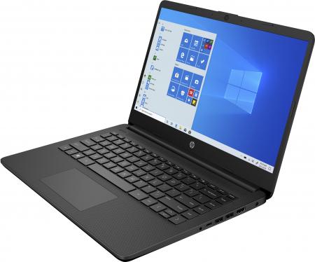 "Laptop HP, 14"", i5 1035G1 (pana la 3.6 GHz), 12 GB DDR4, 512 GB SSD, Windows 10 Home, Black [1]"