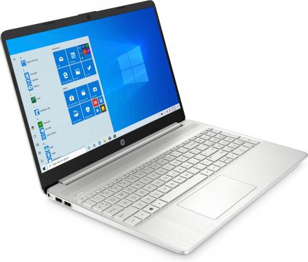 "Laptop HP, 15.6"", AMD Ryzen 3 5300U (pana la 3.8 GHz), 8 GB DDR4, 256 GB SSD, Windows 10 Home, Silver [2]"