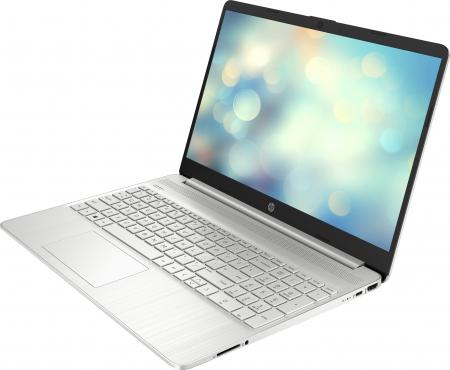 "Laptop HP, 15.6"", AMD Ryzen 5 5500U (pana la 4 GHz), 8 GB DDR4, 512 GB SSD, Free Dos, Silver [1]"