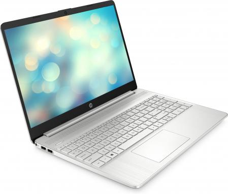 "Laptop HP, 15.6"", AMD Ryzen 5 5500U (pana la 4 GHz), 8 GB DDR4, 512 GB SSD, Free Dos, Silver [2]"