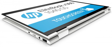 "Laptop HP EliteBook x360, 14"" Full HD Hybrid (2in1), i5 8250U (pana la 3.4 GHz), 16 GB RAM, 512 GB SSD, Windows 10 Pro [6]"