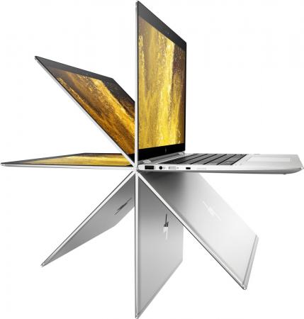 "Laptop HP EliteBook x360, 14"" Full HD Hybrid (2in1), i5 8250U (pana la 3.4 GHz), 16 GB RAM, 512 GB SSD, Windows 10 Pro [3]"