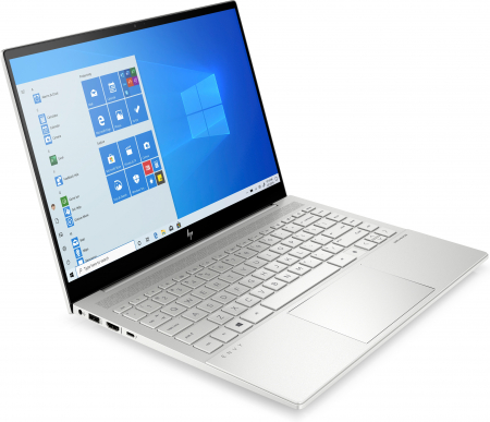 "Laptop HP Envy, 14"", i5 1135G7 (pana la 4.2 GHz), 8 GB RAM, 512 GB SSD, Windows 10 Home, Silver [0]"