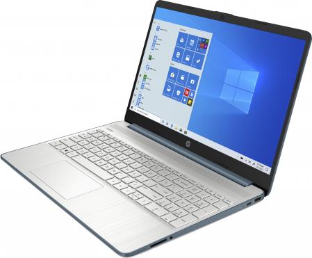 "Laptop HP HexaCore, 15.6"", AMD Ryzen 5 5500U (pana la 4 GHz), 8 GB DDR4, 512 GB SSD, Radeon RX Vega 7, Wndows 10 Home, Spruce Blue [1]"