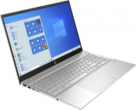 """Laptop HP Pavilion, 15.6"""", AMD Ryzen 5 4500U (pana la 4 GHz), 8 GB DDR4, 512 GB SSD, Wndows 10 Home, Silver [2]"""