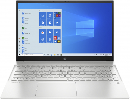 """Laptop HP Pavilion, 15.6"""", AMD Ryzen 5 4500U (pana la 4 GHz), 8 GB DDR4, 512 GB SSD, Wndows 10 Home, Silver [0]"""