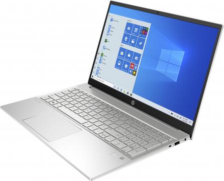 """Laptop HP Pavilion, 15.6"""", AMD Ryzen 5 4500U (pana la 4 GHz), 8 GB DDR4, 512 GB SSD, Wndows 10 Home, Silver [1]"""
